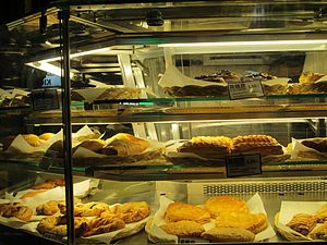 Cypriot cuisine - Typical bakery in Onasagorou Street