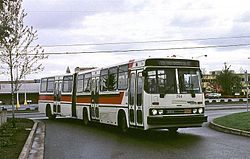Crown-Ikarus bus of Tri-Met, Portland.jpg