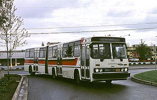 Crown-Ikarus 286 Transit bus that was manufactured by Ikarus and Crown Coach Corporation