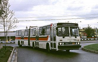 Orion Bus Industries - Crown Ikarus 286, base model used for Orion III