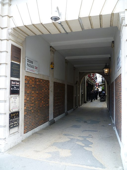 Crown Passage, London SW1