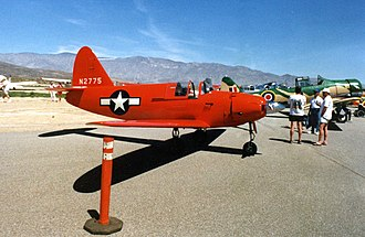 Culver PQ-14 Cadet - A warbird PQ-14 at Borrego Springs Airport in 1991.