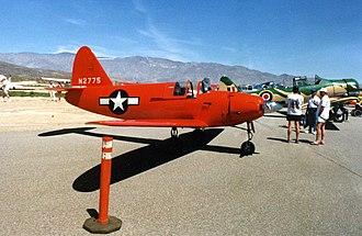 Culver PQ-14 Cadet - A warbird PQ-14 at Borrego Springs Airport in 1991.