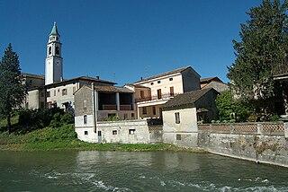 Cumignano sul Naviglio Comune in Lombardy, Italy