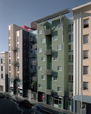 David Baker (architect) - Curran House affordable family housing in the Tenderloin District of San Francisco