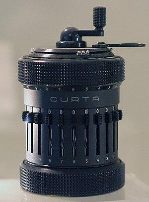 Curta - Curta Type II mechanical calculator