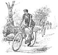 Cyklista na wycieczkach. Lwów-Gdańsk - ilustracja.jpg
