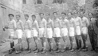 SC Bastia - Sporting Club de Bastia in staff (1905)