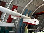D-8290 (aircraft) Fauvel AV.36 Segelflugzeug Kugel Korntal, Internationales Luftfahrtmuseum Manfred Pflumm pic1.JPG