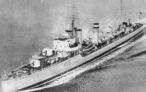 HMS Daring (H16) - Image: DARING (H16)