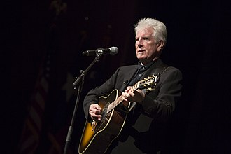 Graham Nash - Nash playing at the LBJ Presidential Library in 2014