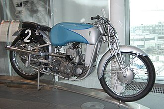 Ewald Kluge - A DKW US 250, as used by Kluge in the 1939 season.