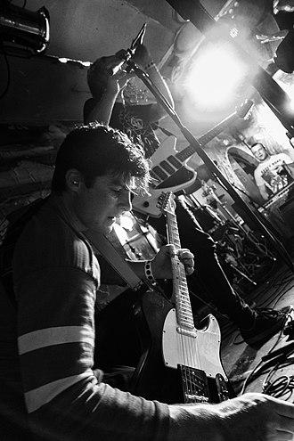 DZ Deathrays - DZ Deathrays performing in 2014.