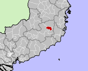 Location in Lâm Đồng Province