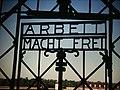 Dachau Gate ARBEIT MACHT FREI, repro (9813191834).jpg