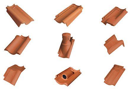 dachziegel - wikiwand, Garten ideen
