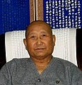 Dae Soen Sa Nim shortly before his death (photo by Joan Halifax)