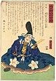 Dai Nihon Rokjūyoshō, Tanba Akechi Hyūganokami Mitsuhide by Yoshitora.jpg