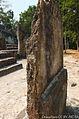 Damaged Maya Stela at Calakmul Mexico 04.JPG