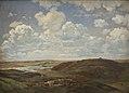 Dankvart Dreyer - A Landscape, Tørring, Jutland - KMS3194 - Statens Museum for Kunst.jpg