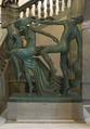 Dansen, figurgrupp på sockel av Kolmårdsmarmor - Hallwylska museet - 106952.tif