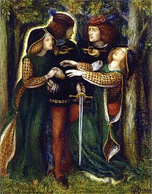 Dante Gabriel Rossetti - How They Met Themselves (1864).jpg