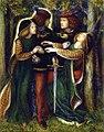 Dante Gabriel Rossetti - How They Met Themselves (1864).jpg