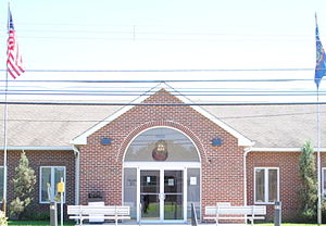 Darby Township, Delaware County, Pennsylvania - Darby Township Municipal Building in Darby Township, PA