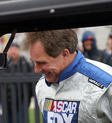 Darrell Waltrip - the enigmatic, charming, kind,  tv-personality, driver,   with English roots in 2017