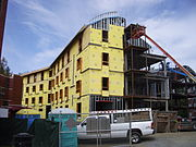The forthcoming Tuck Living and Learning Complex (LLC), expected to be completed in December 2008