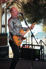 Dave Faulkner performing at Hotel Rottnest on April 2012.jpg