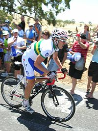 David Kemp bei der Tour Down Under 2010