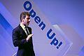 David Rowan editor of Wired Magazine, speaking at Open Up! (8182052937).jpg