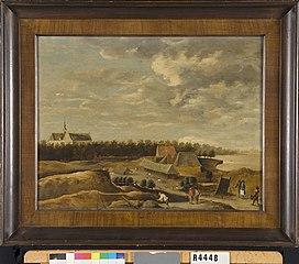 Landschap met boeren bij Brouwershaven