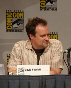 David Hewlett - Hewlett at the San Diego Comic Con, 2007