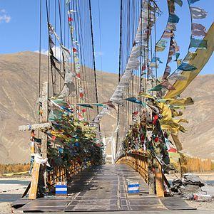 Dagzê District - Image: Dazi Bridge 1edit