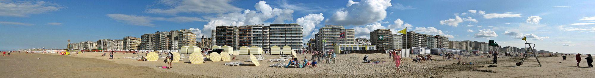 Het strand van De Panne