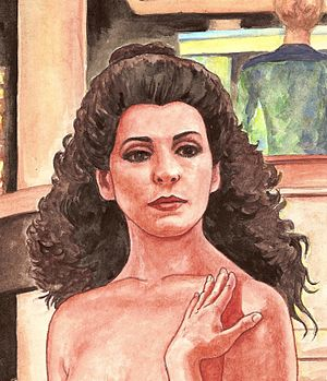 Deanna Troi cover