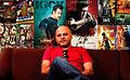 Deepak Bhanushali at his office ONCE MORE STUDIOS.jpg