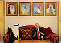 Defense.gov News Photo 110311-D-XH843-012 - Secretary of Defense Robert M. Gates meets with by Bahraini Minister of State for Defense Affairs Sheikh Mohammed Bin Abdulla Al Khalifa after his.jpg