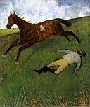 Degas - Jockey blessé, um 1896-1898.jpg