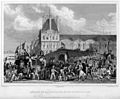Departure of populace for Rambouillet.jpg