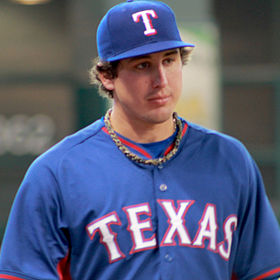 Derek Holland at Minute Maid in August 2014.jpg