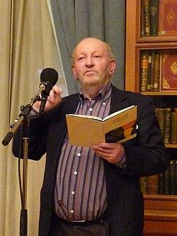 Derek Mahon in Moscow.JPG