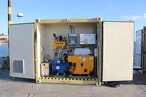 Desalination unit, Tuvalu, 2011. Photo- DFAT (12779965944).jpg
