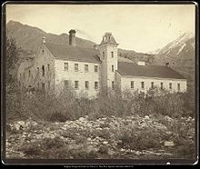 Deseret Paper Mill Around 1869
