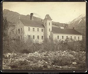Cottonwood Paper Mill - Deseret Paper Mill around 1869