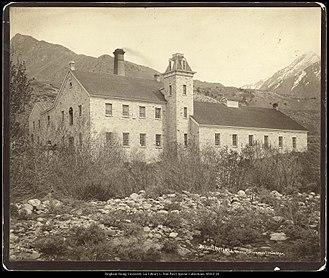 Cottonwood Paper Mill - Deseret Paper Mill around 1869