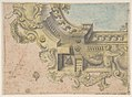 Design for a Decorated Ceiling with Putti and Garlands and a Forshortening of a Balustrade Around an Oculus. MET DP809187.jpg