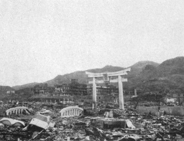 Nagasaki efter atombomben